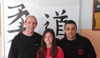 Visita de Eduardo Marco, Pedro Lezano y Lucía Arnedo.