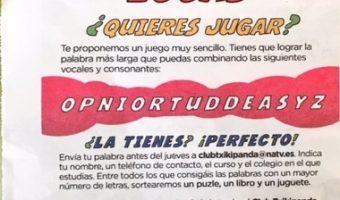 """Alumna del centro ganadora del concurso """"Las letras locas"""" del Diario de Navarra"""